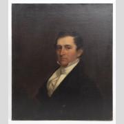 Chester Harding (Mass. 1792-1866), portrait of John Parker, oil on canvas