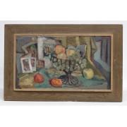 Alfred Henry Maurer (N.Y./France 1868-1932), still life, oil on canvas board