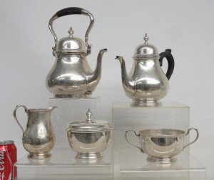 Tiffany sterling silver tea set