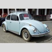 1968 Volkswagen Beetle.