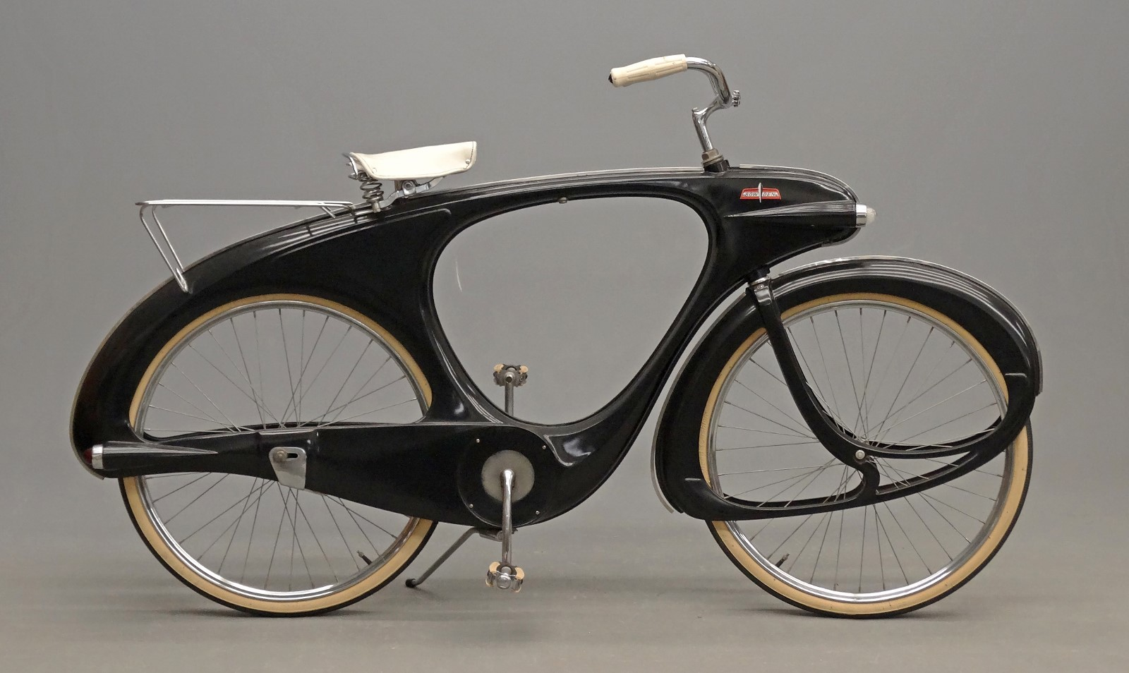 C 1960 S Bowden Spacelander Bicycle In Charcoal Black