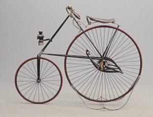 """C. 1888 """"Pony"""" star high wheel safety"""