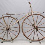 145A. C. 1870's Boneshaker Bicycle