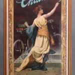 150A. Columbia Chanless Bicycle Poster