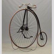 "C. 1887 ""The King"" High Wheel Bicycle"