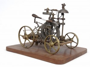 Scarce Velocipede patent model