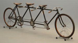 C. 1899 Racing Triplet Bicycle