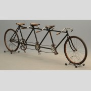 C. 1899 Racing Triplet Bicycle
