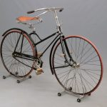 58A. 1892 Columbia Hard Tire Safety