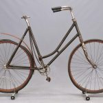 600. Female Pneumatic Safety Bicycle