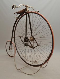 """Very rare C. 1889 King 50"""" high wheel (ordinary) safety bicycle"""