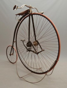 "Very rare C. 1889 King 50"" high wheel (ordinary) safety bicycle"