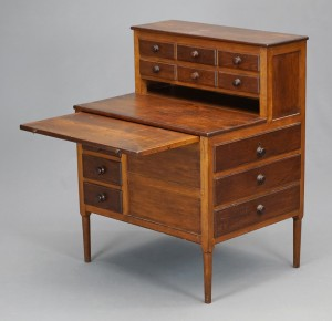 19th c. Shaker Sisters' sewing desk