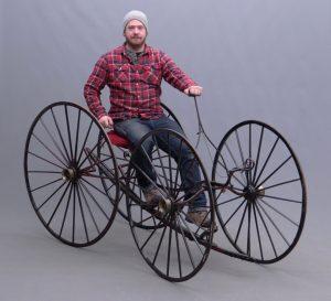 C. 1850 Ward Quadracycle.