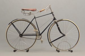 """c. 1890 """"The Rochester"""" manufactured by Rochester Cycle Mf. Co, Rochester NY"""