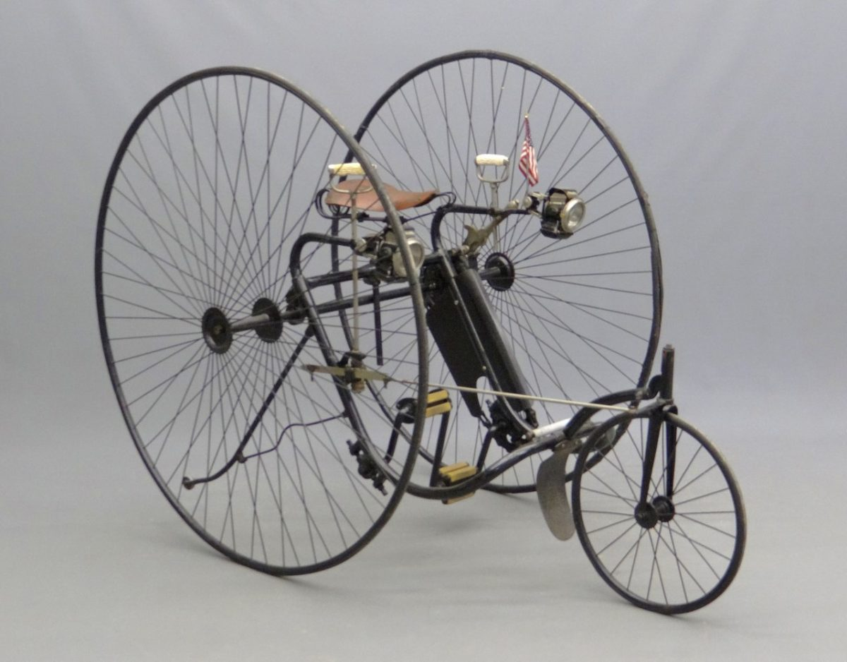 Vintage Tricycle Wheels : C victor adult high wheel tricycle this is the