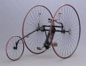 "Rare example of a Columbia ""Two Track Tricycle"""