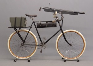 c. 1897 Columbia model 40 military cavalry pneumatic safety bicycle