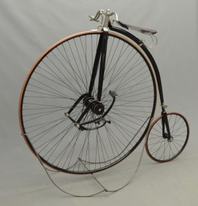 """Very rare C. 1889 King 48"""" high wheel (ordinary) safety bicycle"""