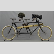 Military Bicycle #2 Columbia Tandem Model 43, circa 1896