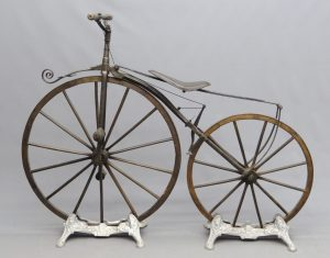 1869 Velocipede with Michaux label