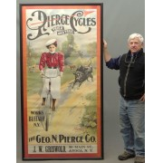 19th c. Pierce Poster Framed