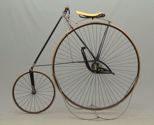 "C. 1886 Special 45"" Pony Star high wheel bicycle"