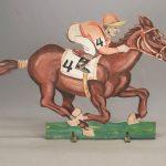 Jockey On Horse Figure