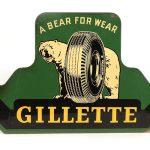 """GILLETTE"" Advertising Sign"