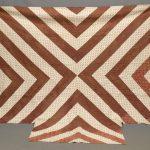 """C. 1880's quilt """"Dramatic X""""."""