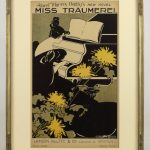 Poster: Ethel Reed, Albert Morris Bagby's Novel: Ms. Traumerei, lithograph printed in colors