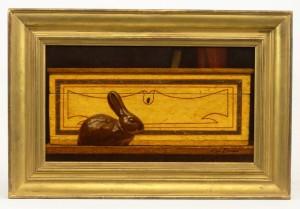 """Ken Davies (b. 1925), """"Sewer Tile Rabbit"""""""