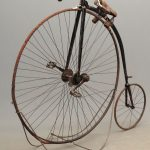 C. 1880's Springfield Roadster High Wheel Bicycle