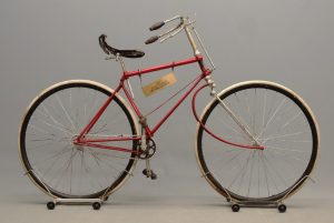 1887 Victor Hard Tire Safety Bicycle