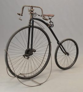 C. 1890's Krypto High Wheel Bicycle
