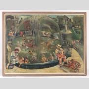 Dorothy Eisner (N.Y. 1906-1984), Oil on Canvas