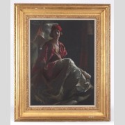 Julius Rolshoven (1858-1930), Pastel on Paper