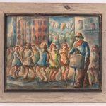 Lot 35. Paul Meltsner (N.Y. 1905-1966), Watercolor