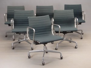 Set Of (6) Herman Miller Chairs