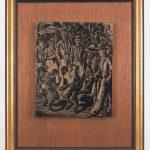 Lot 723. Isaac Friedlander (N.Y. 1890 - 1968), Original Woodblock