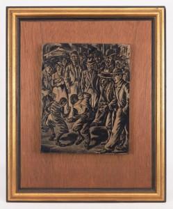 Isaac Friedlander (N.Y. 1890 - 1968), Original Woodblock
