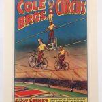 10. Cole Bros. Circus Poster