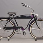 114. 1948 Hawthorne Deluxe Tank Bicycle