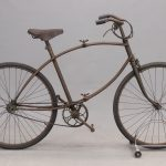 119. 1940's World War II BSA Paratrooper bicycle