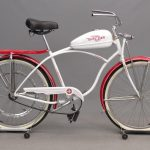125. 1957 Schwinn Whizzer Bicycle