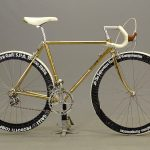 131a. 1983 SOMEC Roccanti gold plated (54 ct) 14 speed bicycle