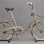 149. 1970's Peugot Eurostyle folding bicycle