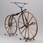 16. C. 1860's Boneshaker Bicycle