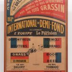 193. 1972 Paris Velodrome Cafe Poster