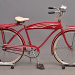225. 1960's Murray Tank Bicycle